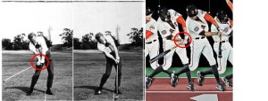 Time-lapse photography that I reviewed during my Xerox Box Golf Research Project comparing the classic golf swing vs. the baseball swing and how similar the Sync/Preset Maneuver are in both swings