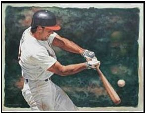 Baseball-type swing