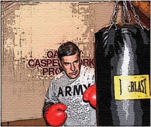 A boxing bag workout provides an excellent aerobic exercise and stamina