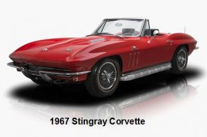 1967 Stingray Corvette