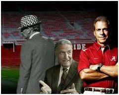 Coach Bear Bryant | Coach Nick Saban