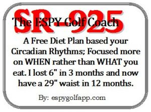 SR-925 Diet Plan