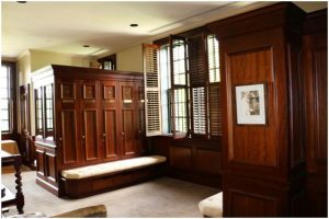 The golfer's Locker Room