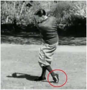 Bobby Jones golf swing