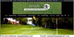 The ESPY Golf Swing Coach