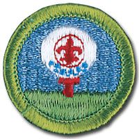 Boys Scouts Merit Badge for Golf