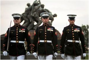 U.S. Marines Corps Iwo Jima Monument in Washington, D.C.