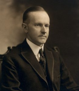 President John Calvin Coolidge on Sports Psychology