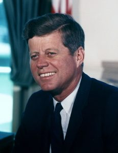 President John Fitzgerald Kennedy on Sports Psychology