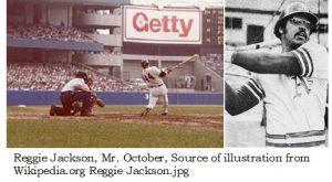 Reggie Jackson, Mr October, developed an important Sports Psychology technique using the RED ZONE