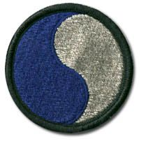 The 29th Divison Patch