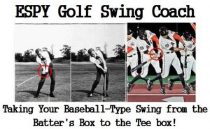 The GOLF TEAM Coaching APP compares the baseball swing in the batter's box to the golfer's swing on the tee box. They are more similar then they are different, so refer to the time-lapse photo below. This TEAM coaching APP is referred to as Apperception. Apperception is where finely-developed skills in one sport can be used to develop skills in another sport. We just need to convince our subconscious mind to use these skills from our baseball swing.