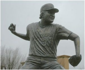 One of the best throwers of the knuckleball was Phil Niekro with the Atlanta Braves.