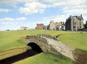 Graeme Baxter Art Gallery for a virtual tour of his great holes of golf