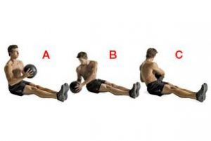 medicine ball golf exercises