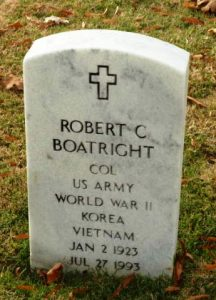 Marker Robert C. Boatright