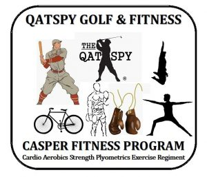 CASPER Fitness Program consist of golf exercises with medicine ball to develop a great golf swing workout for DISTANCE and CONTROL.