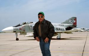 US WINGS A-2 Cape Buffalo Leather Jacket