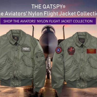 The Aviators' Nylon Flight Jacket Collection
